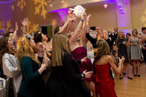 Metro Mass Entertainment Builds Excitement For The Bridal Bouquet Toss